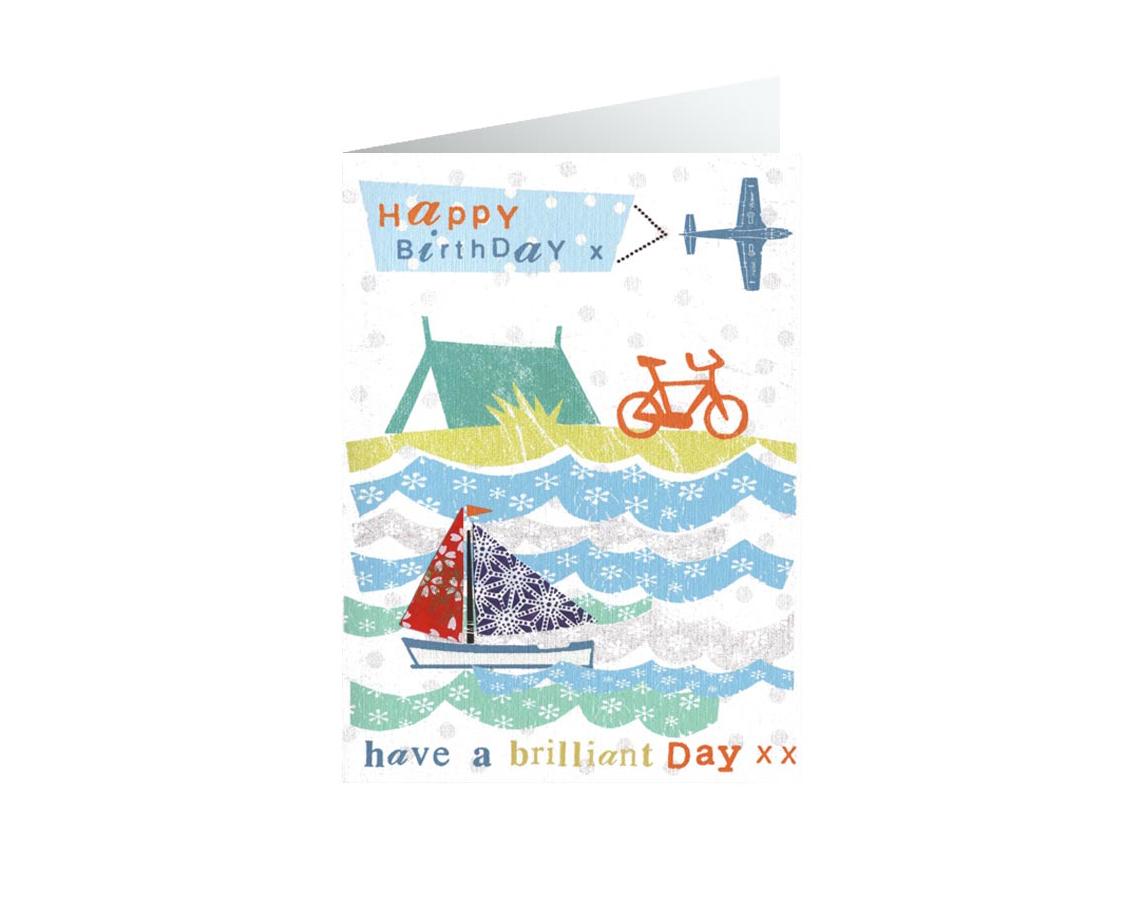 Bikes Birthdays Card