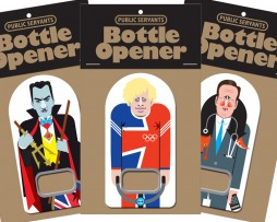Politician Bottle Openers