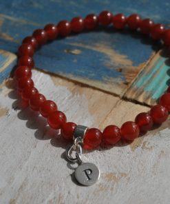 personalised gemstone bracelet