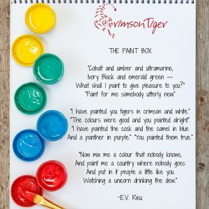 The Paint Box poem