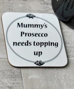 Personalised tipple coaster