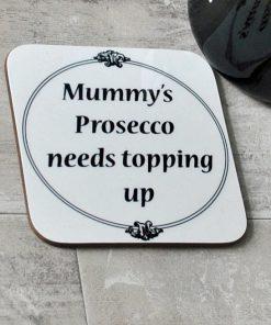 Personalised tipple coaster