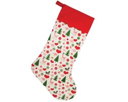 vintage christmas gift stocking