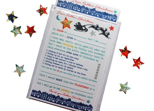 Father Christmas reward card