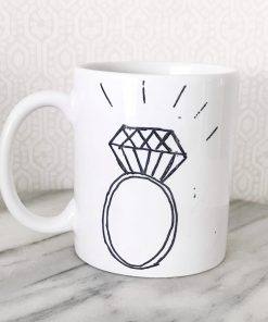 Bling ring mug