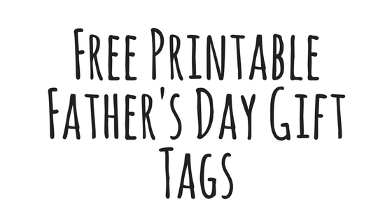 picture about Free Printable Fathers Day Tags called Totally free Fathers Working day Reward Tags Towards Print - Purple Tiger