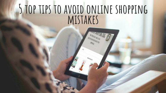 Online shopping mistakes