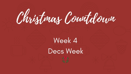 An Organised Christmas Countdown week 4