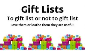 To Gift List Or Not To Gift List