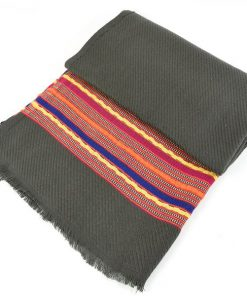 Courtney dark grey scarf