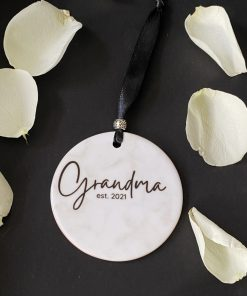 personalised hanging decoration