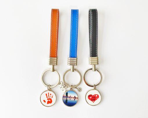 Trio of Personalised Keyrings